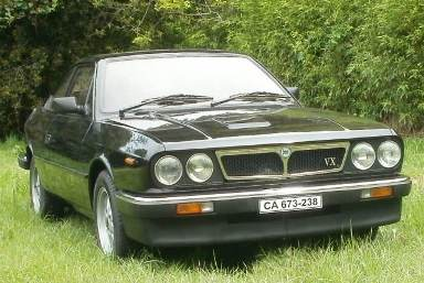 Lancia Beta coupeé VX